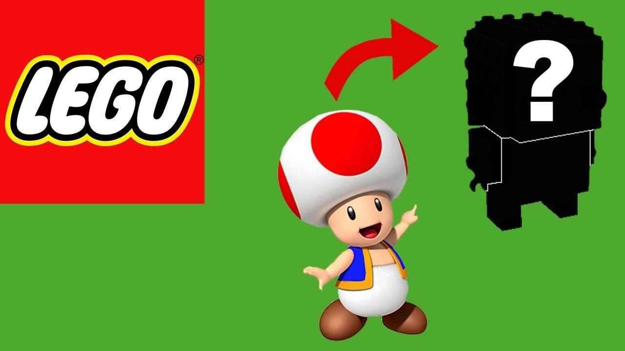 How to Build Lego Brickheadz Toad