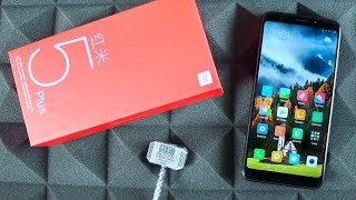 Видео обзор смартфона Xiaomi Redmi 5 Plus с кэшбэком