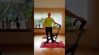 Total Crunch deutsch - Vorstellung, Erklärung, Übungen - Heimtrainer + Crosstrainer + Bauchtrainer