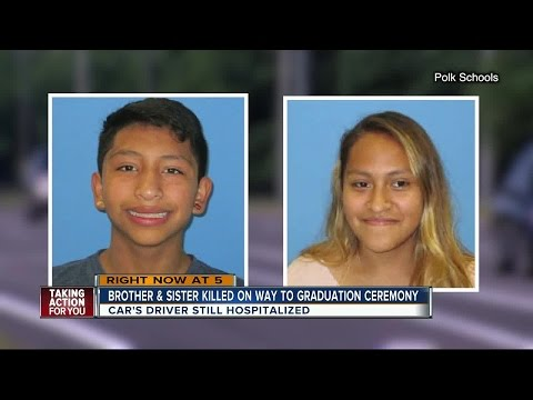 5PM REPORT: 2 Polk Co. high school students killed, 1 injured in crash en route to graduation ceremo