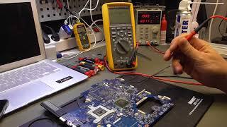 Lenovo G780 не включается, не заряжается.