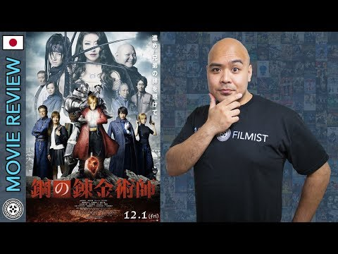 Fullmetal Alchemist (Live Action) – Movie Review