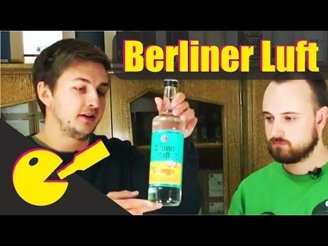 Berliner Luft Schnaps - Pfefferminzlikör Tasting und Markenvorstellung