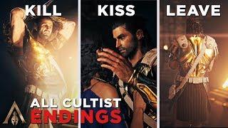 All Cultist Ending (Kill/Kiss/Leave Aspasia) - Assassin's Creed Odyssey