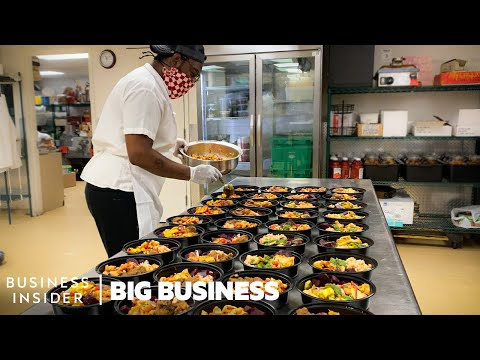 , title : 'How Restaurants Make 800,000 Meals (And Counting) For Frontline Workers | Big Business