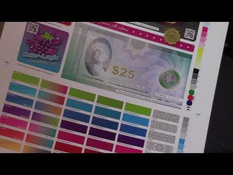 Ryobi UV Offset - Silver ink – Color-Logic Certification Test Form ...