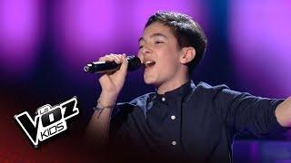 """Samuel: """"Mientes"""" – Audiciones a Ciegas  - La Voz Kids 2018"""