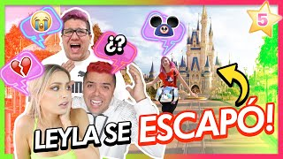 LEYLA SE ESCAPA A DISNEYWORLD!!!😱  | CAP 5 TEAM ANGEL