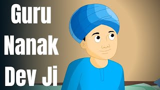 GURU NANAK DEV JI | SHORT ENGLISH STORY FOR KIDS | Animated Story | Moral Story For Children - Download this Video in MP3, M4A, WEBM, MP4, 3GP