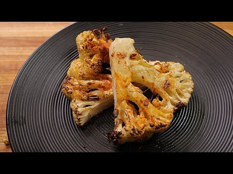 Cauliflower Steak – Healthy Recipe Channel