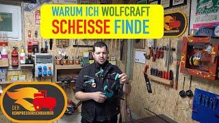 WARUM ICH WOLFCRAFT SCHEISSE FINDE #einhandzwinge #forstnerbohrer #werkzeug