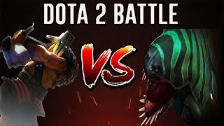 Dota 2 Battle #13 | Tidehunter  Versus Juggernaut