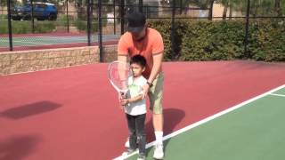 Teaching Tennis to Your Young Kids