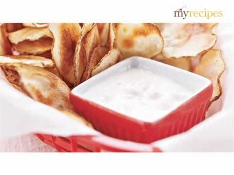 I Heart My Stand Mixer – Potato Chips with Blue Cheese Dip