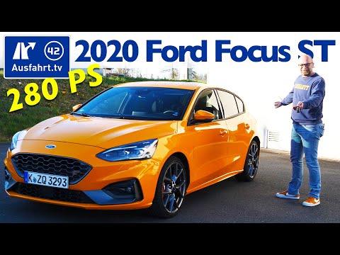 2020 Ford Focus ST 2.3l EcoBoost  - Kaufberatung, Test deutsch, Review, Fahrbericht Ausfahrt.tv