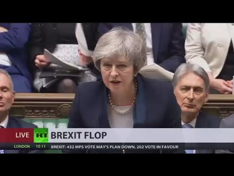 'Catastrophic Defeat': UK Parliament rejects Theresa May's Brexit deal