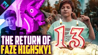 Youngest Player in Esports is Now 13 Years Old (FaZe H1ghSky1)
