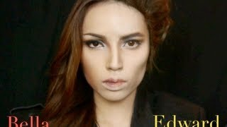 Edward and Bella Make-up Transformation - YouTube