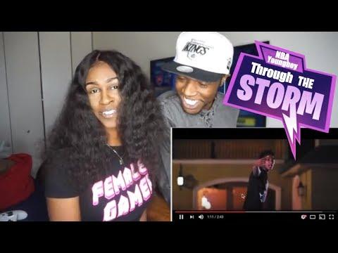 NBA YoungBoy - Through The Storm (OFFICIAL VIDEO) | Holly Sdot Reaction