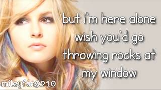 Bridgit Mendler - Rocks At My Window LYRICS (Hello my name is... ALBUM)