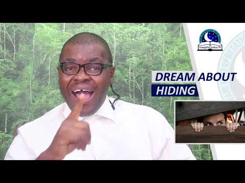BIBLICAL MEANING OF HIDING IN DREAM - Evangelist Joshua Orekhie Dream Dictionary