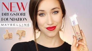 MAYBELLINE SUPER STAY FULL COVERAGE 24 HR FOUNDATION REVIEW | ALLIE GLINES