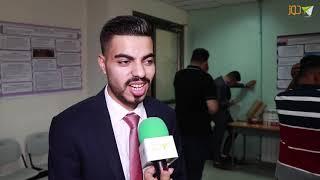 الطالب صدام حشاش من كلية ابن سينا يتحدث عن مشروع تخرجه