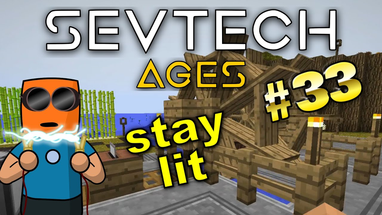 Minecraft - Stoked kiln, bellows, hibachi - SevTech Ages #33
