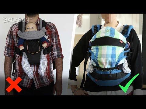 Mira cómo cargar a tu bebé para no lastimarlo