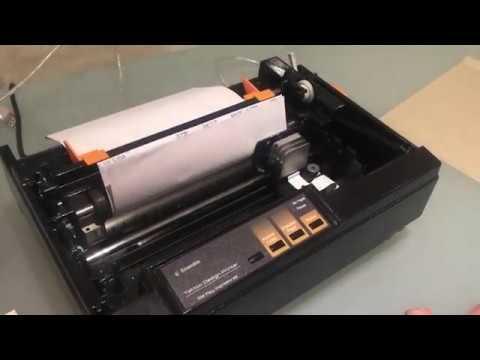 Ale Rey Impresoras: Impresoras Matriciales TDP (Tattoo Design Printer) para papel hectografico.