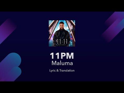 Maluma 11pm Lyrics English Translation - Spanish and English Lyrics - Meaning / Subtitles