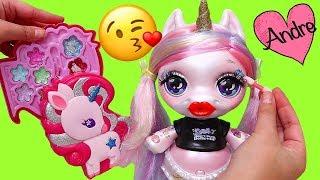 Gambar cover Bebes Unicornio juegan Dominó y se maquillan | Muñecas y juguetes con Andre para niñas y niños