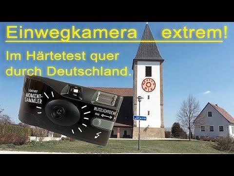 Einwegkamera extrem: Analog und im Härtetest quer durch Deutschland