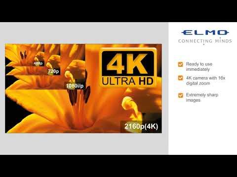 ELMO MX-P Mobile 4K visualiser