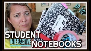 STUDENT INTERACTIVE NOTEBOOKS L PREP AND PLAN SERIES 2019 L EP 02