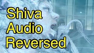 FFXV: Shiva Speech Reversed (Audio Played Backwards) From Chapter 14 of Final Fantasy 15