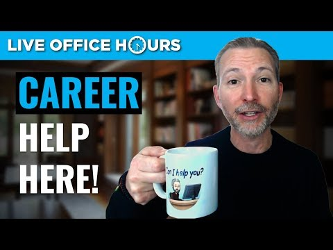 Career Help Here: Live Office Hours with Andrew LaCivita