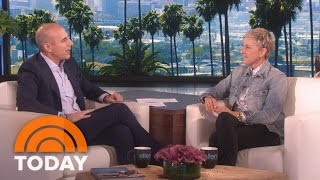 Ellen DeGeneres On Coming Out, President Trump, Her Prank War With Matt Lauer | TODAY