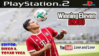 winning eleven 2018 para PLAY STATION 2 idioma español