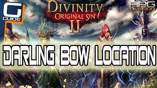 DIVINITY ORIGINAL SIN 2 - Darling Bow Location (Great Starting Bow)
