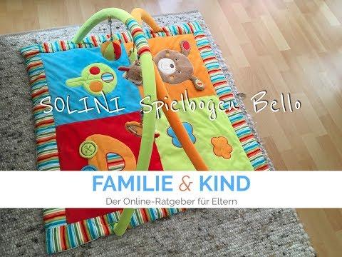 SOLINI Spielbogen Bello // Krabbeldecken Test von Familie & Kind