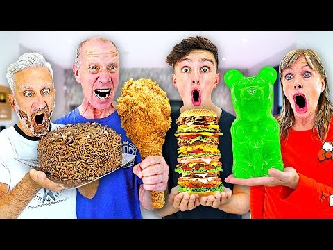 Eating 100,000 CALORIES In 24 HOURS - Challenge