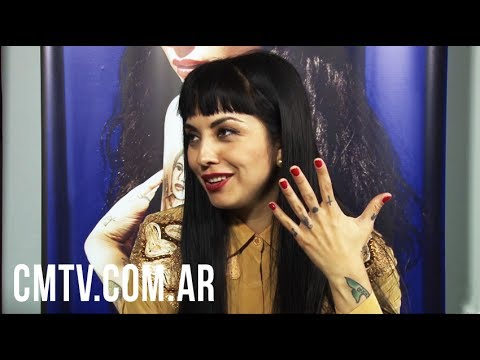 Mon Laferte video Entrevista Argentina - Junio 2017