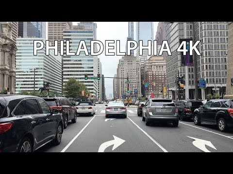 Drive 4K - Philadelphia - USA