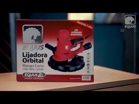 Lijadora Orbital Equus Mango Corto Con Aspiradora 1220w