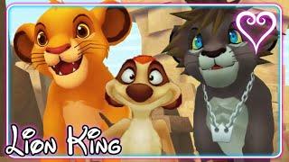 Kingdom Hearts 2 All Cutscenes | The Lion King ~ Pride Lands