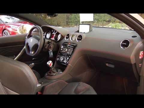 Peugeot RCZ R Interior Design | AutoMotoTV