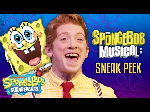 "Ethan Slater Sings ""Best Day Ever"" from The SpongeBob Musical: Live on Stage! 