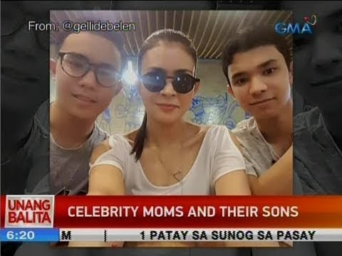[GMA]  UB: Celebrity moms and their sons