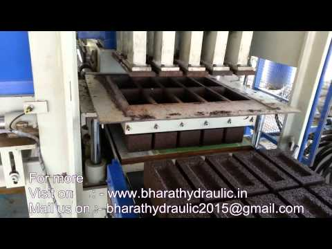 BHA-102C Automatic Multi Purpose Block Machine Plant 10 Cavity